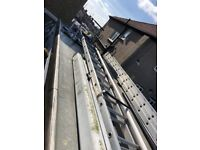 almost new condition roofers ladder