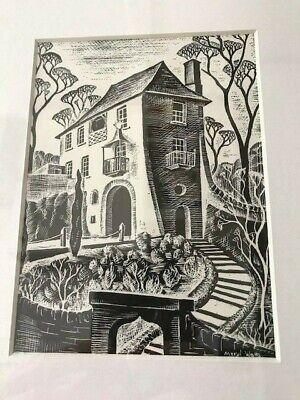 Meryl Watts, Print of Portmeirion 'The Gate House', Snowdonia - Framed & Glazed