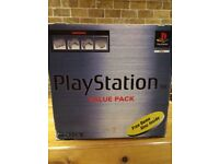 PLAYSTATION 1 (PS1) ORIGINAL AND BOXED IN GOOD CONDITION