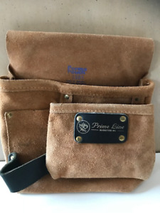 Leather Tool and Utility/Nail Pouch