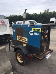 2011 MILLER BIG BLUE 400AMP DIESEL WELDER!! PRICED TO MOVE