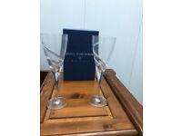 Royal Worcester Crystal Wine Glasses