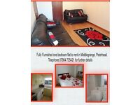 1 Bedroom Tastefully Decorated Fully Furnished Flat