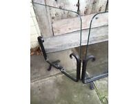 Fire Guard - wrought iron, arts n crafts period