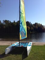 2013 Hobie Wave Classic with Seitech Dolly