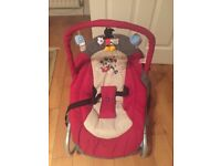 2 x Baby bouncers/chairs