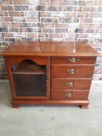 SIDE UNIT WITH DRAWERS AND CUPBOARD EXCELLENT CONDITION