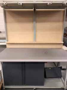 Workbench for electronics etc