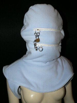aterials Maske *mit Reissverschluss Adult Baby (Adult Baby Maske)