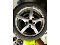 4 x Continental ContiWinterContact Tyres & Alloys 205/55 R 17