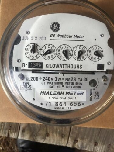 GE Electrical watt-meter (4)
