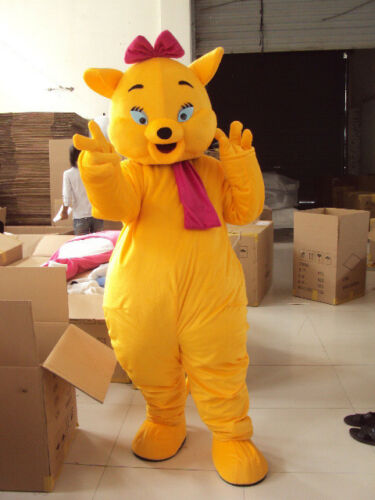 Yellow Magic Cat Of The Cat Mascot Costumes 2018 Fancy Dress Unisex Party Parade