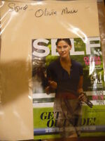 OLIVIA MUNN signed autographed SELF magazine   Selling for $35 (