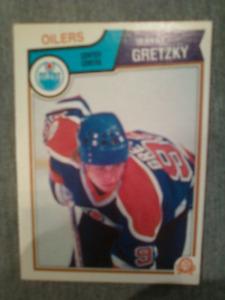 Mint 1983-84 O-Pee-Chee Wayne Gretzky hockey card