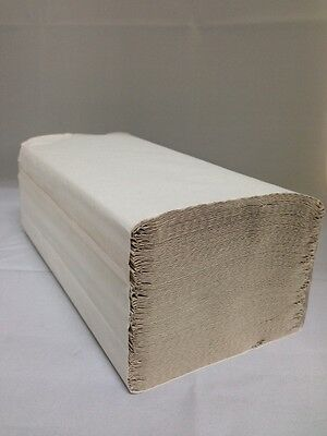 10000x Papierhandtücher Handtuchpapier Z-Falz Falthandtücher Handtuch 25 x 23 cm