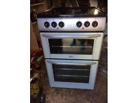 £118.98 belling grey/black ceramic electric cooker+55cm+3 months warranty for £118.89