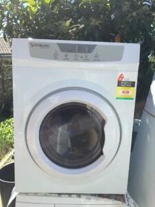 large 6.5 kg stirling dryer only   Dimentions is 57cm w x 57 cm d x 58