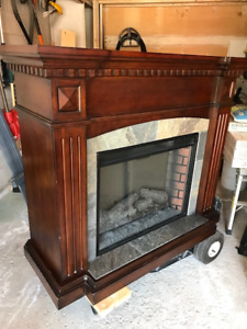 Electric Fireplace with Mantle Surround LOWER PRICE