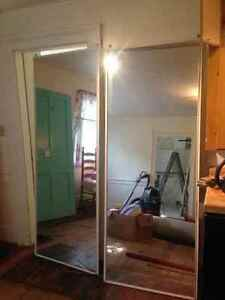sliding mirror doors for closet