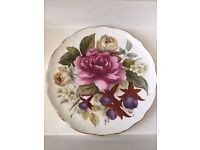 *EDWARDIAN CHINA* FBC Hedgerow Bouquet 21cm Plate Beautiful English Country