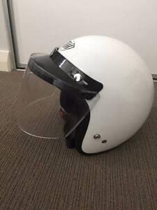 White XL open face motorcycle helmet with flip visor Beckenham Gosnells Area Preview