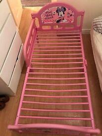 Mini Mouse kids bed