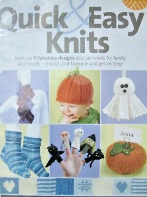 KNITTING PATTERN HALLOWEEN FINGER PUPPETS, BABY PUMPKIN HAT, SCARF, SOCKS & MORE - Halloween Finger Puppets Craft