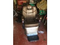 Heavy duty barbers chairs
