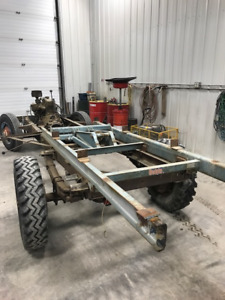 1959 Apache 3800 chassis with dump hoist