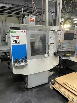 2007 Haas Mini Mill Cnc Vertical Machining Center 10 Tool Atc 6k Rpm Cat40