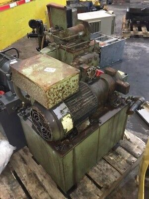 Showa 2 HP (1.5kW) Complete Hyd. Unit, Nachi Pump VDR-1A-1A2-11, Used