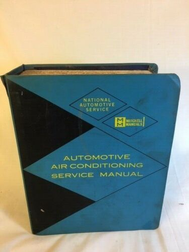 MITCHELL NATIONAL AUTOMOTIVE SERV 1963-1974 DOMESTIC AIR A/C SERVICE  MANUAL
