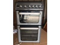 HOTPOINT GAS OVEN, AS NEW GRILL, OVEN x4 HOBS! *CLEAN*
