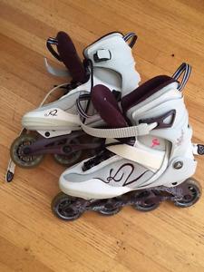 K2 Roller Blades, Women's size 10