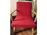 Vintage Red Armchair