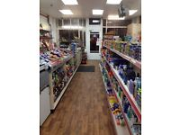 FREEHOLD convenience store for sale with flat above