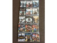 Ps3 and 52 games