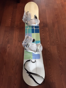 Firefly Emotion 150cm Snowboard with Bindings. $85 OBO