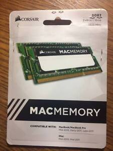 CORSAIR Mac Memory, 16GB 1333MHz C9 DDR3 SODIMM