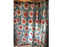 JOHN LEWIS FULLY LINED EYELET CHILDREN'S OR NURSERY CURTAINS EXCELLENT CONDITION