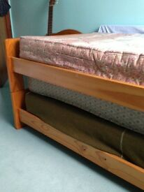 Twin stacking beds and mattresses also cabin bed mattress all fire retardant.