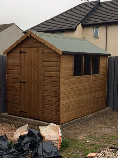 New Garden Shed For Sale - 6 x 8