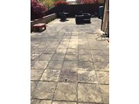 140sqm of paving slabs - collection only