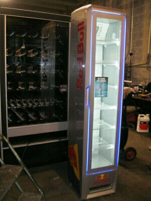 Eco Slim Commercial Display Cooler Merchandiser with LED Lights!