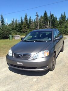 2007 Toyota Corolla Other NOVA SCOTIA