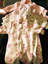Baby girl 4x0000 Winter Onesies Greenslopes Brisbane South West Preview