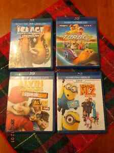 Kid's Blu-Ray Movies:  All for $10.00!