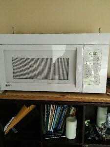 LG Microwave - above stove model