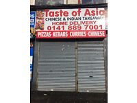 Chinese takeaway shop