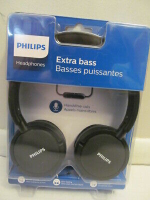 Philips Extra Bass Headphones 32 mm Drivers, Folding SHL5005